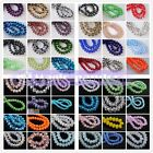 100pcs 6x4mm Wholesale Rondelle Faceted Crystal Glass Charms Loose Spacer Beads