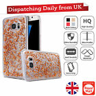 Luxury Bling Glitter Crystal Clear Hard Back Gel Case Cover Samsung S7 & Note 7