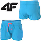 NEW 4F Womens-Girls-Summer-Holiday-Shorts-Ladies-Jersey-cotton-Hotpants-beach