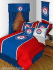 Texas Rangers Comforter Sham and Bedskirt Twin Full Queen King SIze