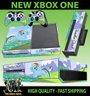 XBOX ONE CONSOLE STICKER RAINBOW DASH MY LITTLE PONY SKIN & 2 PAD SKINS