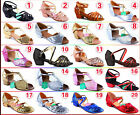 Lot 2018 Latin Shoes Fashion Girl Kid Child Party Bow Soft Buckle Dance Shoes B