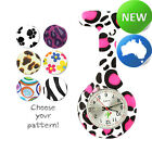 Pattern Silicone FOB Watch DATE FUNCTION | Nurse | Doctor | Student