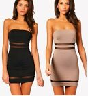 Sexy Strapless Short Slim Warp Dresses For Women Clubwear Pencil Skirt