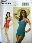Butterick Sewing Pattern 6067 Ladies Retro Gertie Swimsuit Costume Pick Size