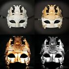 Mens New Greek Roman Warrior Gladiator Hercules Venetian Theatre Masquerade Mask
