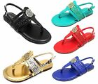 Nadya-15 New Blink Gladiator Buckles Flat Cute Comfort Sandals Party Women Shoes