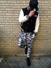 DJ DANCE Jogging Hip Hop Army Camouflage Military Hose Ghetto STREET CLUBWEAR