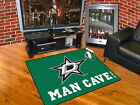 Dallas Stars Man Cave Area Rug Choose from 4 Sizes