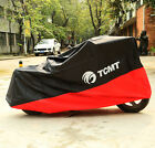 190T Motorcycle Outdoor UV Protector Motorbike Rain Cover Waterproof Red 5 size