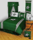 Dallas Stars Comforter Sham and Valance Twin Full Queen King Size