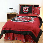 South Carolina Gamecocks Comforter Sham and Sheet Twin Full King Size CC