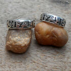 Ancient Scripture Angkor Wat Temple Cambodia Energy Protection Amulet Band Ring