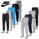 Nike Mens Cuffed Fleece Joggers Gym Running Tracksuit Bottoms Pants Ankle Zip