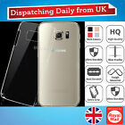 Ultra Thin Clear Silicone Crystal Hard PC Gel Case Back Cover For Samsung S6