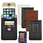 PU Leather Vertical PPouch Beat Holster Card Case For iPhone 6S Galaxy S7 Edge