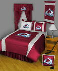 Colorado Avalanche Comforter Sham & Pillowcase Twin Full Queen King Size