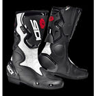 SIDI FUSION LADY WHITE LADIES SPECIFIC MOTORCYCLE MOTORBIKE SPORTS BIKE BOOTS