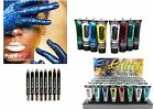 Paintglow Glitter Gel Lips Eyeshadow Paint Sticks for Face and Body