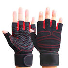 Training Body Building Gym Exercise Weight Lifting Sport Train Half Finger Glove