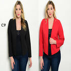 C9 New Womens Casual Long Sleeves Party Coat Jacket Cardigan Blazer Work Office