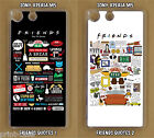 Sony Xperia M5 Friends TV Show Quotes Custom Made Clear Phone Case