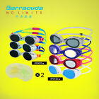 Barracuda Swimming Goggles #33620 #70720 & junior set with ear plug together