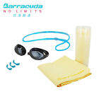 Barracuda Swimming Optical Goggles #2195(BLUE)& #CHAMOIS TOWEL set FREE SHIPPING
