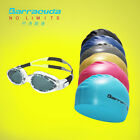 Barracuda Swimming Goggles #14820 glasses & Flat Silicone Cap (Standard) Package