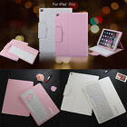 Removable Wireless Bluetooth Keyboard Leather Folio Case Cover For ipad Pro 12.9