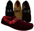 MEN GIOVANNI DRESS LOAFER ITALIAN CASUAL SLIP-ON MEDIUM(D,M)SOLID FASHION NEW