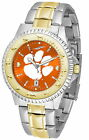 Clemson Tigers Watch Anochrome 2-Tone Competitor Ladies or Mens