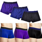 Men Soft Underwear Boxer Briefs Shorts Bulge Pouch Trunks Underpants Knickers