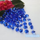 10mm 4CT Royal Blue Acrylic Diamond Confetti Wedding Party Table Scatters Decor