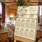 Personalised Wedding Table Seating Plan- VINTAGE TAGS - 4 SIZES AVAILABLE