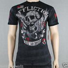Affliction Wings of Fury A6979  Men' T-shirt Tee Black