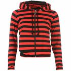 MODA Banned Cat Hoody Ladies Red / Black