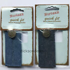 Denim Waistband Extender Expander No Sew - Button Hole Type For Jeans Or Skirts
