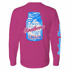 Southern Charm Collection Mason Jar Southern State of Mind on Long Sleeve Shirt