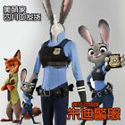Zootopia Judy Hopps Nick Wilde Cosplay Costume Halloween Outfit dress Full Set