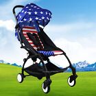 New Pushchair Lightweight Mini Baby Stroller Buggy From Birth US Flag In Stock