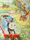 Thomas the Tank Engine Material Vintage Trains Single Bed Duvet Cover Set