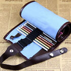 Fine Quality 48pcs Sketch Roll Pencil Case Bag Storage Holder Pouch Hot Sale