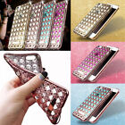 Girls Bling Glitter Shockproof Rubber Diamond Soft TPU Case Cover for iPhone