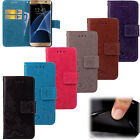 Fashion Book Style Flip Magnetic  Wallet PU Leather Cover Case For Samsung  SYC