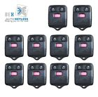 10 x NEW3 BUTTON Keyless Entry REPLACEMENT Key Remote FOB Shell Case For Ford