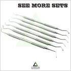 Set Of 6 Restorative Amalgam Composite Filling Instruments Ball Burnisher Set CE