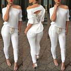 UK NEW Womens Tracksuit Ladies Loungewear Set Sweatshirt Joggers Tracksuit Pants