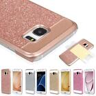 Luxury Bling Hybrid Rubber Hard Bumpter Case for Samsung Galaxy S7/S7 Edge Note7
