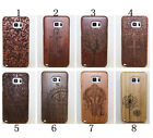 Real Natural Genuine Wooden Bamboo Case Cover For Samsung Galaxy Note 5